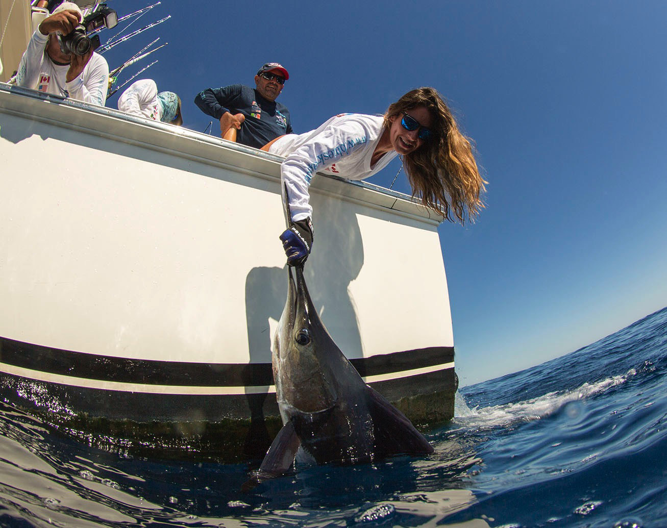 The Young Woman and the Sea: Jacki Shea Takes on Her First Marlin