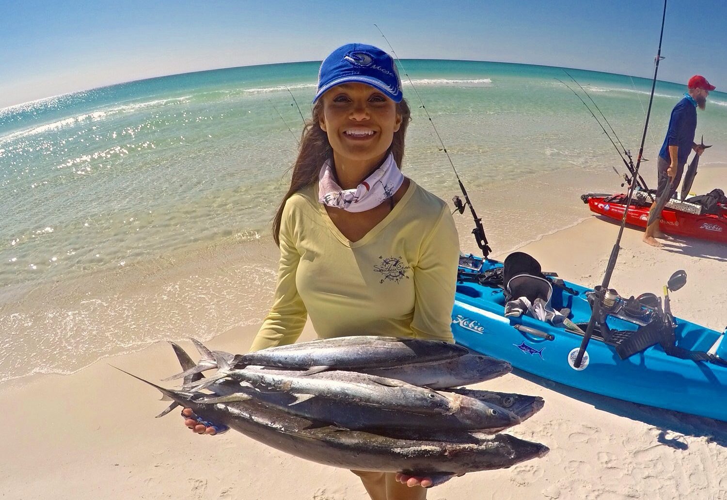 Sara Salt: Zen and the Art of Kayak Fishing